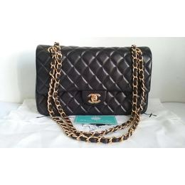 7839b18f3 Bolsa Chanel Classic Flap Medium Lambskin