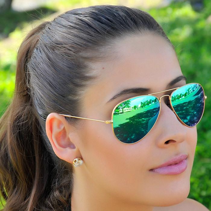 d374a848b Óculos Ray Ban Aviador Espelhado - Maria Valentina Store