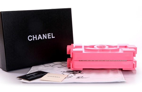 e81874146 Clutch Chanel Lego Pink - Maria Valentina Store