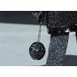 Bolsa Chanel Globe Clutch Black