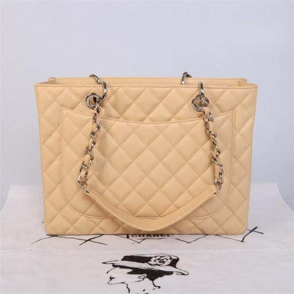 28485b204 Bolsa Chanel Shopper Beige - Maria Valentina Store