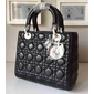 Bolsa Christian Dior Lady Medium Black