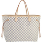Bolsa Louis Vuitton Neverfull Canvas Damier Azur GM