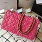 Bolsa Chanel Classic Flap Lambskin Pink