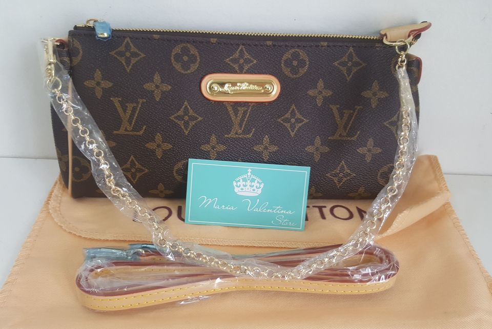 5f43bb0dc Bolsa Louis Vuitton Eva Canvas Monogram - Maria Valentina Store