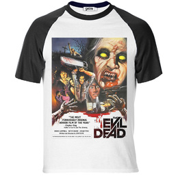 T-Shirt Raglan Evil Dead