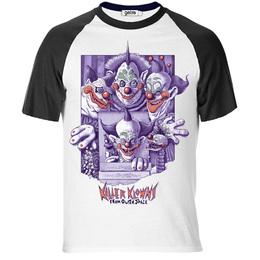 T-Shirt Raglan Killer Klowns