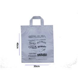 sacola plastica com alça fita