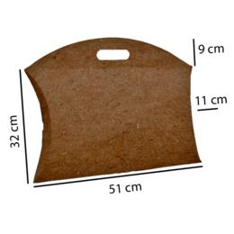 caixa almofada kraf (S.G.) para vestiario