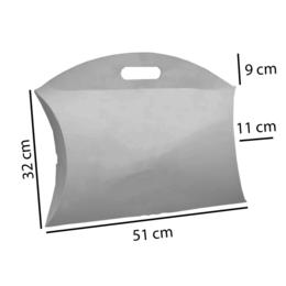 caixa almofada branca s.g. em cartão duplex