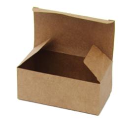 caixa kraft para alimentos