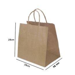 sacola de papel mkraft
