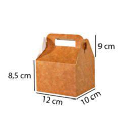 caixa maleta kraft para alimentos