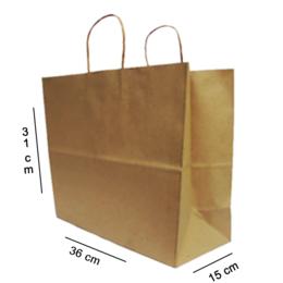 sacola kraft para delivery