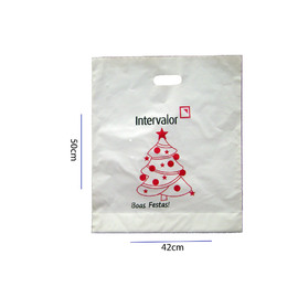 sacola plastica alça vazada