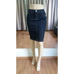 Saia Jeans amaciada - Ref FJ1101