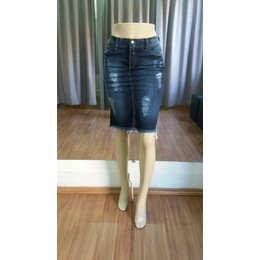 Saia Jeans destroyed - Ref 65A1