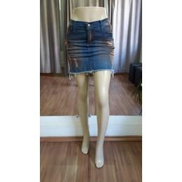 Mini saia Jeans - Ref FJ1003