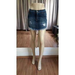 Mini saia jeans - Ref FJ1001
