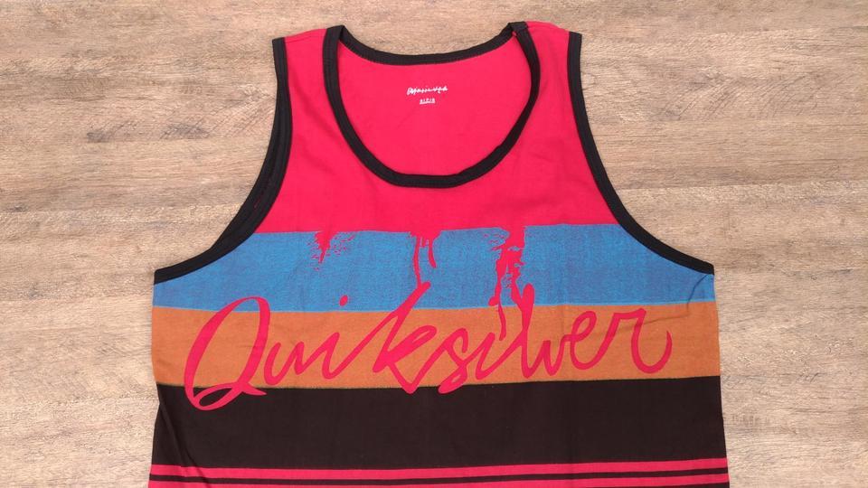 Camiseta Regata Quiksilver Between Camiseta Regata Quiksilver Between Camiseta  Regata Quiksilver Between 759d50a176