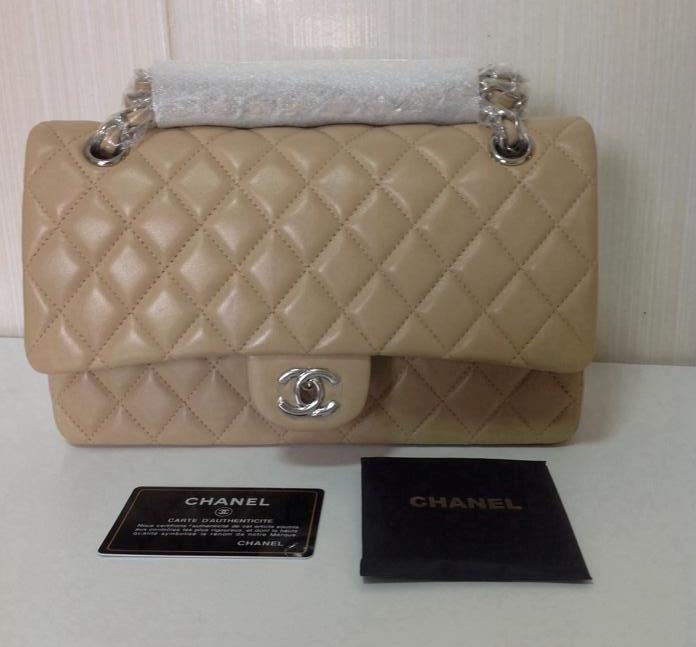 ad10c7aa8 Bolsa Chanel Classic Flap 2.55 (Caviar ou Lambskin) - Linha 7A Premium  Bolsa Chanel Classic Flap 2.55 (Caviar ou Lambskin) - Linha 7A Premium