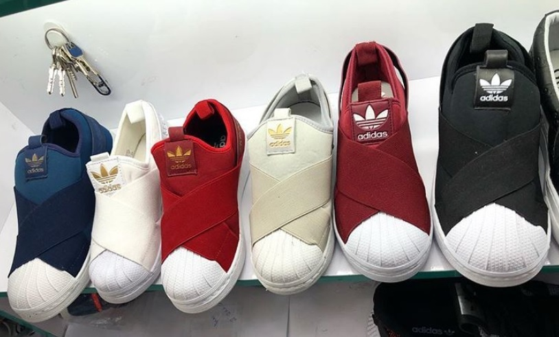 7c61ad3ab4a Tênis adidas slip on Tênis adidas slip on