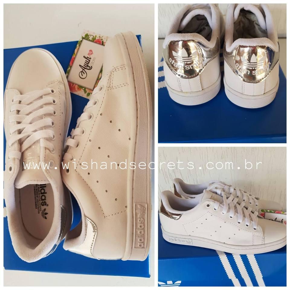 a2a9ab516d3 Tênis Adidas Stan Smith - Linha 7A Premium - Ayuh Store