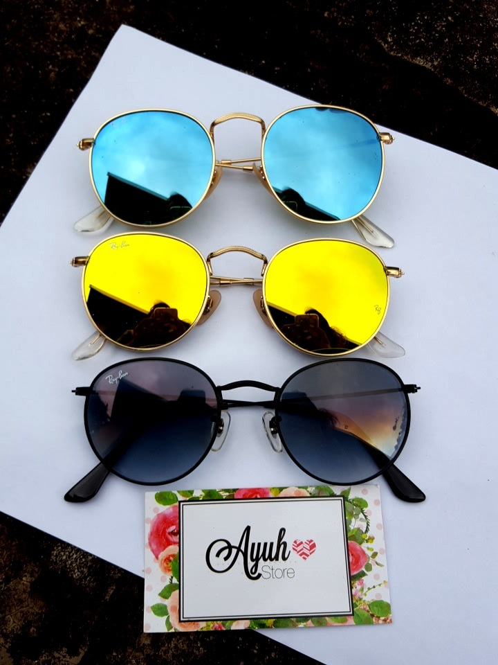 40ac85420 Óculos Round Espelhado - Linha 7A Premium Óculos Round Espelhado - Linha 7A  Premium