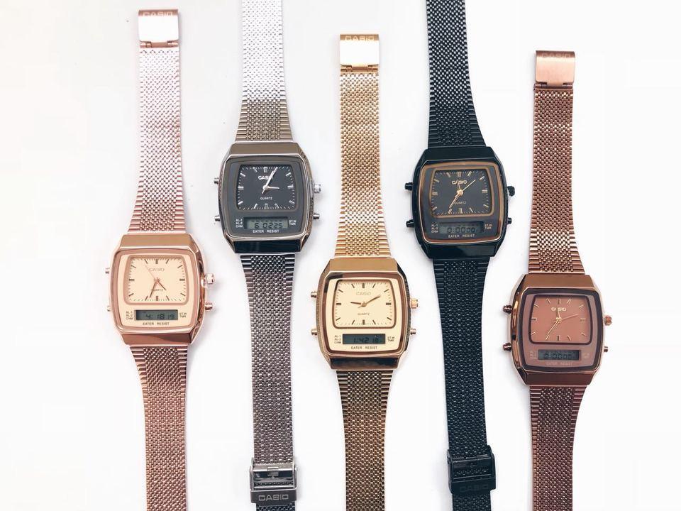 32ab14227b2 Relógio casio quadrado modern Relógio casio quadrado modern