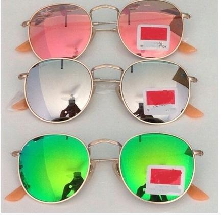 811585c01 Óculos Round Espelhado - Primeira Linha - Ayuh Store