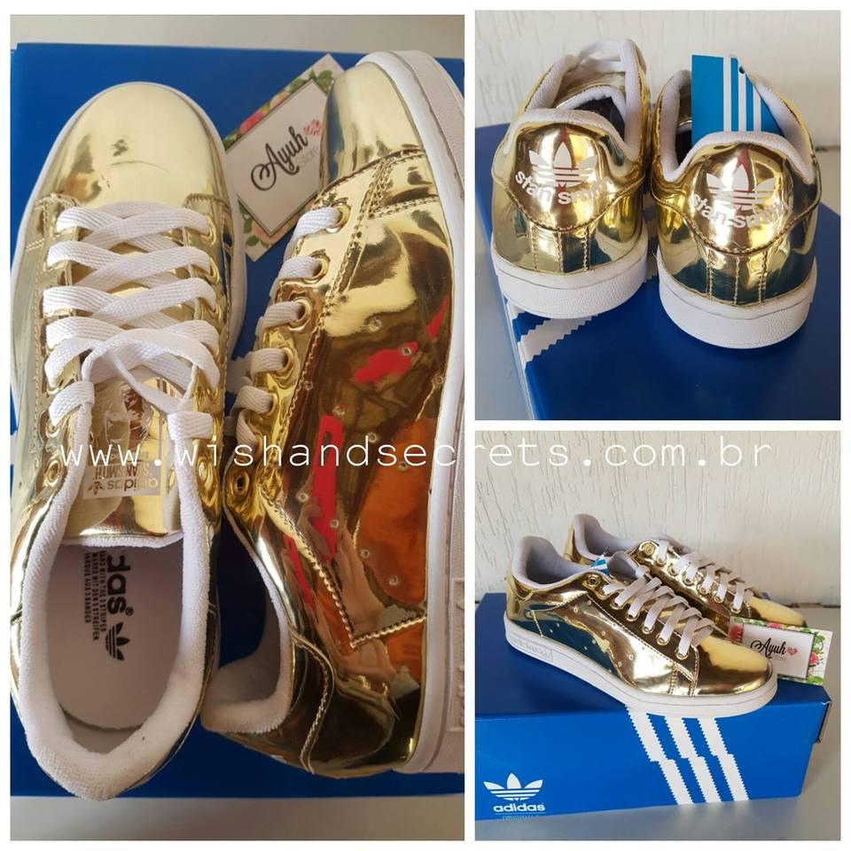 25874dd89a1 Tênis Adidas Stan Smith - Linha 7A Premium Tênis Adidas Stan Smith - Linha  7A Premium