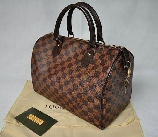 5a3b2e4b7 Bolsa Louis Vuitton Speedy 30 ou 35 - Primeira Linha Bolsa Louis Vuitton  Speedy 30 ou 35 - Primeira Linha