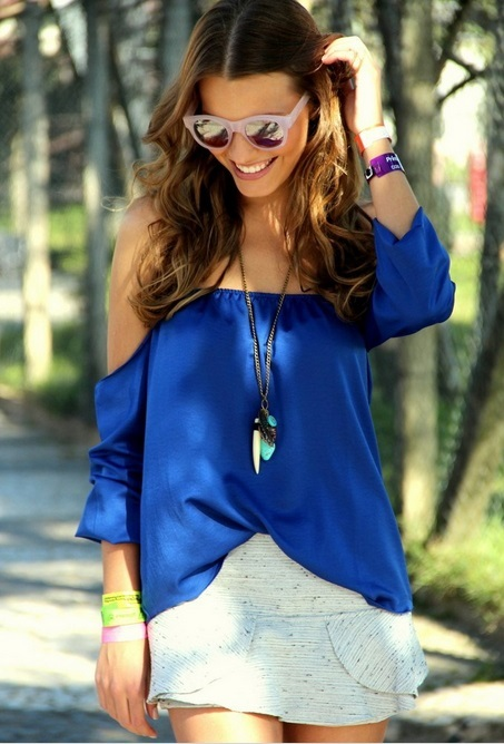 Blusa Ciganinha (+ Cores)