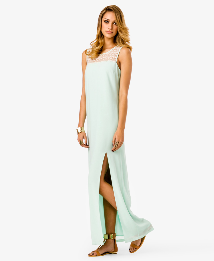 Vestido Mint Forever 21 - Pronta Entrega!