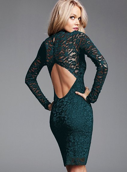 Pronta Entrega - Vestido Rendado Victoria's Secret