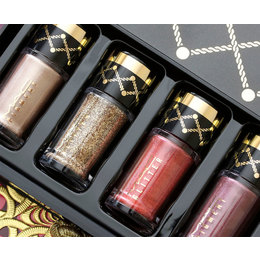Pronta Entrega - MAC Nutcracker Sweet Gold Pigments and Glitter Kit