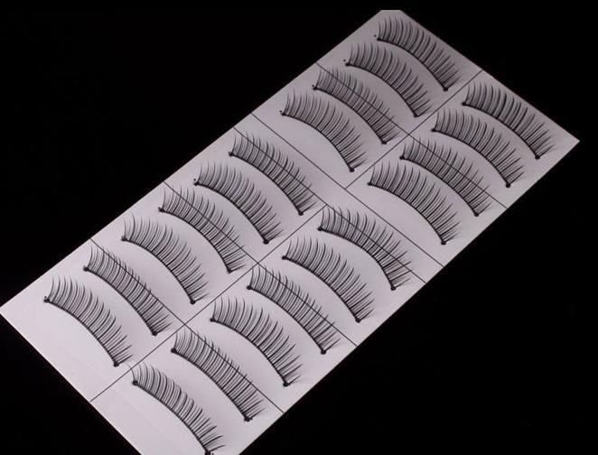 10 pares de Cílios Postiços