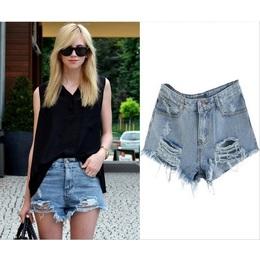 Short  Jeans Esfolado