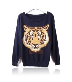 Moleton Tigre Feminino