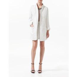 Casaco de Linho Oversized Zara - Pronta Entrega