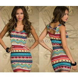 Vestido Print (4 Cores)