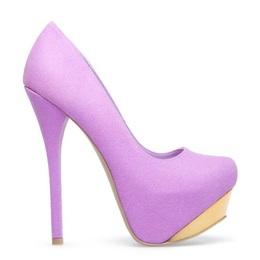 Sapato Thyara lilás (Frete Grátis)