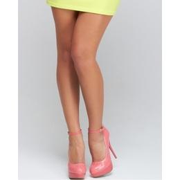 Pronta Entrega - Sapato Molly Pink
