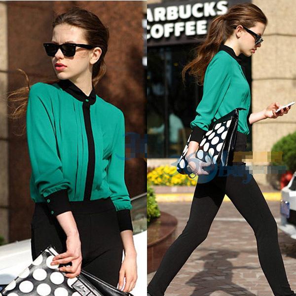 Camisa Color Block
