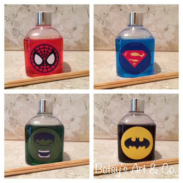 Difusor de ambiente - super-heróis