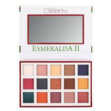 Paleta Esmeralda II Beauty Creations