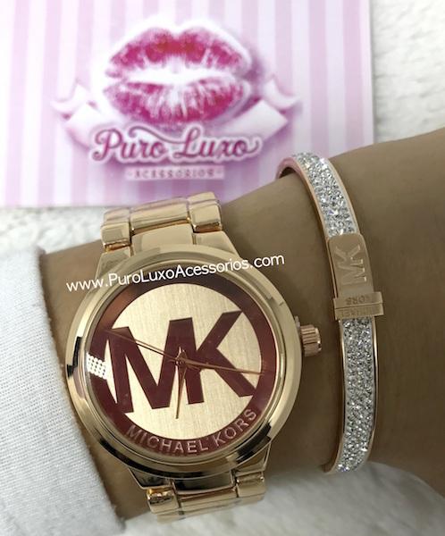 50f9a178bdeaa Relógio Michael Kors MK Rose - Puro Luxo Acessórios