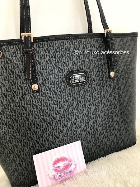 40f5c5b71 Bolsa Victor Hugo Coleção 2017 - Puro Luxo Acessórios