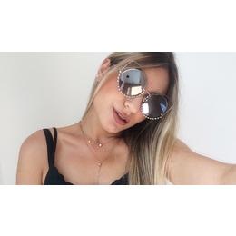bb06f61a7388c Óculos Marc Jacobs Prata Espelhado