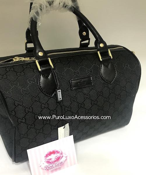 2368fdc778eea Baú Gucci Preta - Puro Luxo Acessórios